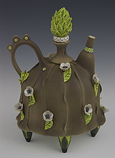 Bloomer by Laura Peery (Ceramic Teapot)