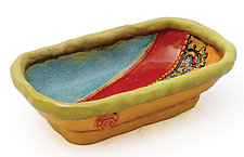 Esperanza 2 Little Dish by Laurie Pollpeter Eskenazi (Ceramic Serving Dish)