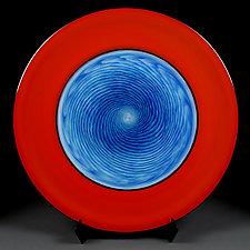 Ocean Orchard by Eric Bladholm (Art Glass Platter)