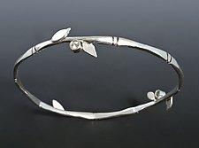 Bamboo Bangle by Marilee Nielsen (Silver & Stone Bracelet)