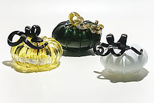 Pumpkins by Christian Turiello (Art Glass Sculpture)