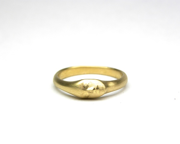 Little Gold Lady Ring