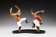Dancing My Heart Out by Stalin Tafura (Bronze Sculpture)