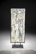 Moonrise by Varda Avnisan (Art Glass Sculpture)