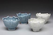 Egg Shell Bowls by Marion Angelica (Ceramic Bowl)