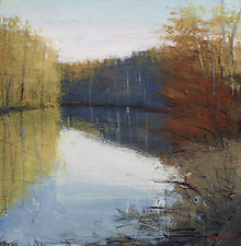 Pond View by David Skinner (Giclee Print)