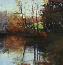 Sandburg Pond by David Skinner (Giclee Print)