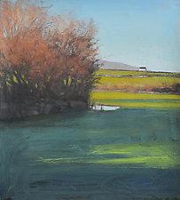 New Quay Shadows by David Skinner (Giclee Print)