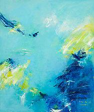Rhapsody in Blue by Lela Kay (Oil Painting)