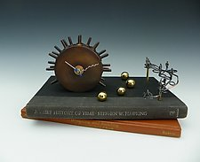 A Brief History of Time by Mary Ann Owen and Malcolm  Owen (Metal Clock)
