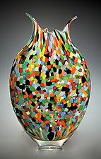 Mosaic Foglio by David Patchen (Art Glass Vessel)