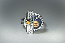 Big Bang Ring by Dawn Estrin (Silver & Stone Ring)