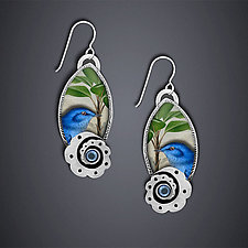 Audubon Earrings by Dawn Estrin (Silver Earrings)