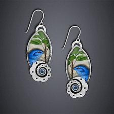 Audubon Earrings by Dawn Estrin (Silver Earrings)