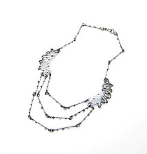 Double Shattered Necklace by Joanna Nealey (Silver Necklace)