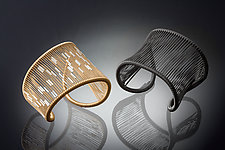 Cuff by Tana Acton (Gold & Silver Bracelet)