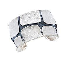 Terra Cuff Bracelet by Davide Bigazzi (Silver Bracelet)