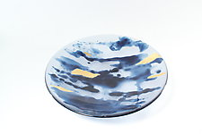 Water Color Bowl by Heather Palmer (Art Glass Bowl)