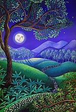 Flora Luna by Wynn Yarrow (Prints Giclee)