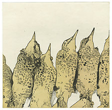 Lean In by Barbara  Stikker (Etching)