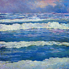Ocean Pattern by Ken Elliott (Oil Painting)