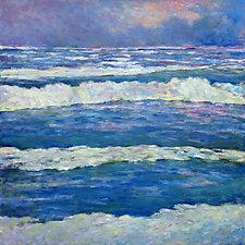 Ocean Pattern by Ken Elliott (Oil Painting)