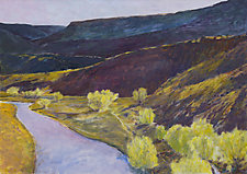 Rio Chama View by Ken Elliott (Giclee Print)