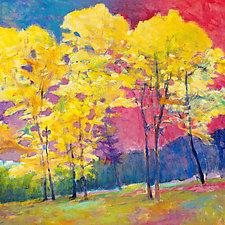 Insistent Yellows by Ken Elliott (Giclee Print)