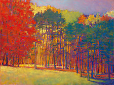 Autumn Diagonal by Ken Elliott (Giclee Print)