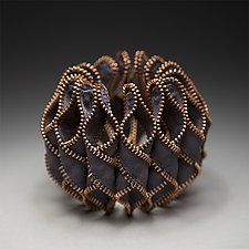 Reverse Octavia Zipper Bracelet by Kate Cusack (Zippered Bracelet)
